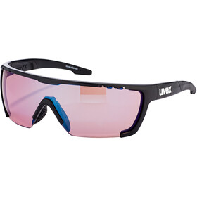 UVEX Sportstyle 707 Colorvision Glasses, black mat/outdoor